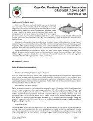 Anadromous Fish - Cape Cod Cranberry Growers' Association