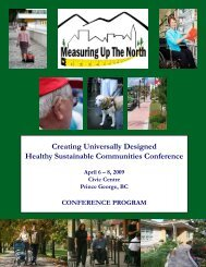 Creating Universally Designed Healthy Sustainable Communities ...