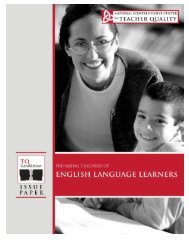 Preparing Teachers of English Language Learners - NIUSI Leadscape