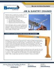 Jib Crane PDF - Bushman Equipment, Inc.