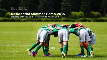 Residential Summer Camp 2016