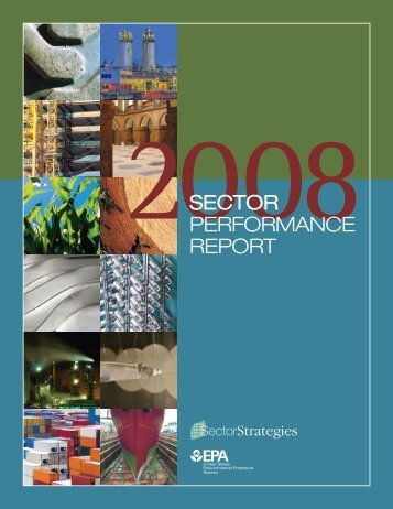 2008 Sector Performance Report - US Environmental Protection ...