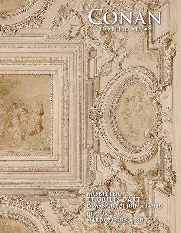 CONAN Hôtel d'Ainay - Catalogue Juin 2015