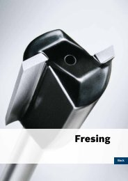Fresing - Bosch elektroverktøy