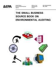 The Small Business Source Book on Environmental Auditing - Port ...