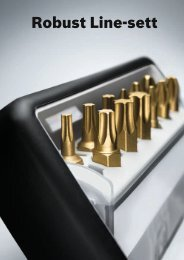 Robust Line-sett - Bosch elektroverktøy
