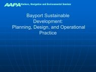 Port of Houston Bayport Sustainable Development