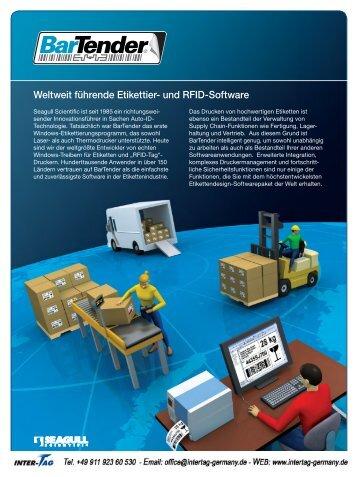 Weltweit führende Etikettier- und RFID-Software - Paperdrive
