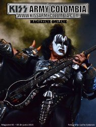 Kiss Army Colombia Magazine - #1