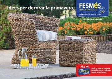 Idees per decorar la Primavera