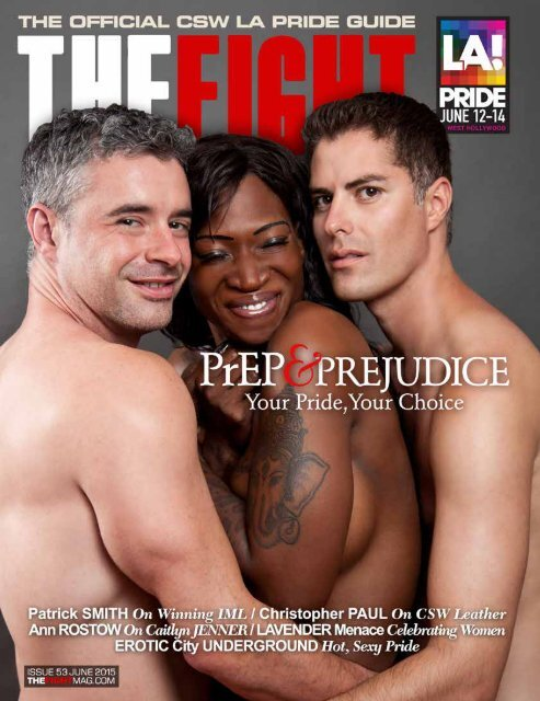 THE FIGHT SOCAL'S LGBT MONTHLY MAGAZINE JUNE 2015