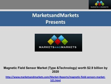 Magnetic Field Sensors Market by Type