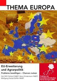 EU-Erw.u.Agrarpolitik, Bel.