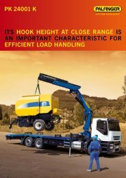 PK 24001 K itS HOOK HeiGHt At cLOSe RAnGe iS An ... - Kuhn - MT
