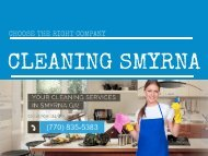 Cleaning Smyrna