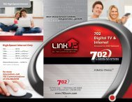 702 Digital TV & Internet - 702 Communications
