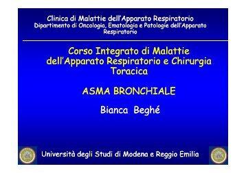Asma bronchiale.pdf - Clinica malattie apparato respiratorio