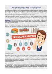 Design High Quality Infographics