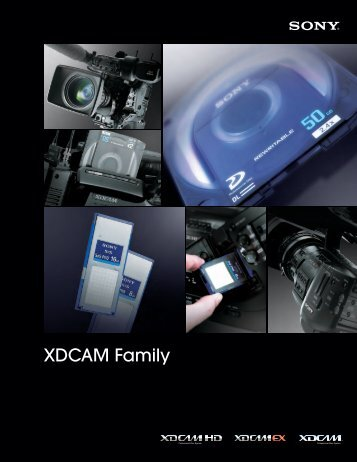 XDCAM Family