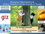 07 Emerging Opportunities & Policy initiatives for the ... - IGEP.in