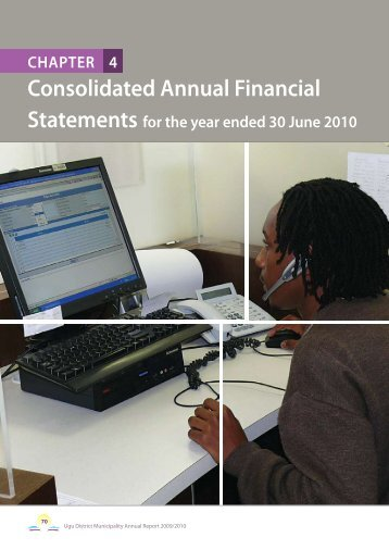 Notes to the Annual Financial Statements (continued) - Ugu District ...