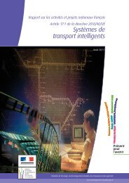 Systèmes de transport intelligents - Atec/ITS France