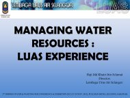 Managing State Water Resources