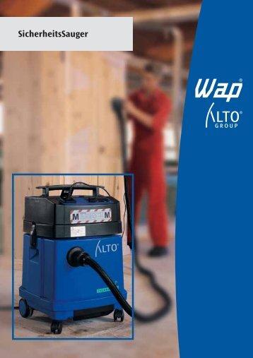 Staub - WAP-ALTO KEW Reinigungssysteme