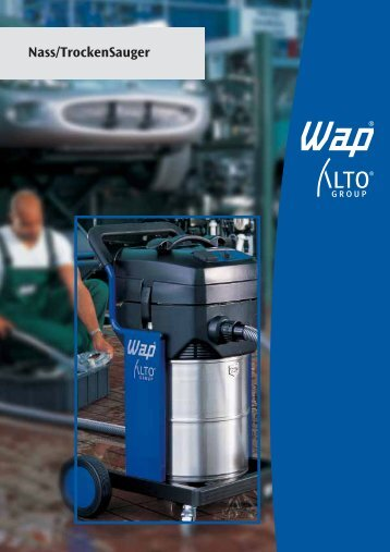 Nass/TrockenSauger - WAP-ALTO KEW Reinigungssysteme