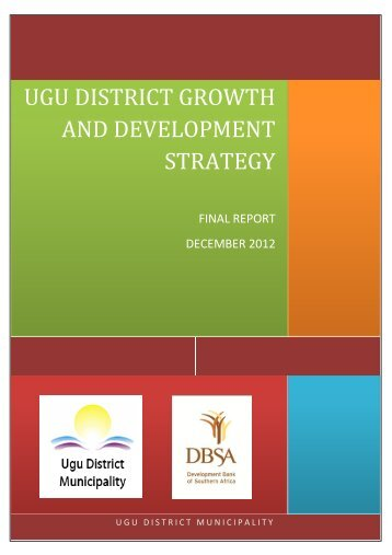 UGU DISTRICT GROWTH AND DEVELOPMENT STRATEGY