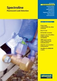 Spectroline Refrigerants.pdf - Advanced Engineering