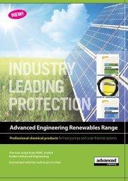 Advanced Renewables Brochure - Advanced Engineering