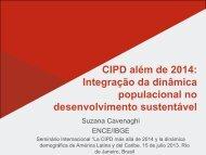 Integração da dinâmica populacional no desenvolvimento sustentável