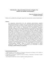 Globalización y migración latinoamericana en España. Una mirada ...