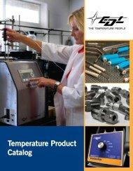 Temperature Product Catalog