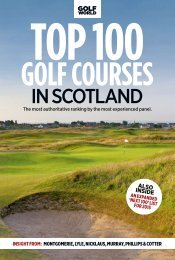 Top 100 Golf Courses in Scotland