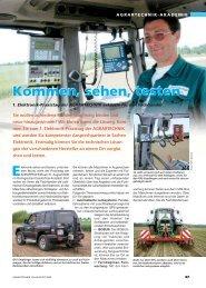 Kommen, sehen, testen E - Deutscher Landwirtschaftsverlag GmbH