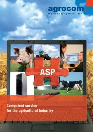 ASP-Training - Claas Agrosystems GmbH & Co. KG