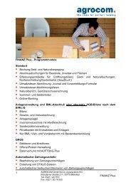 finanz plus - Claas Agrosystems GmbH & Co. KG