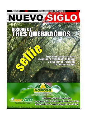 Revista Agropecuaria Nuevo Siglo Número 131