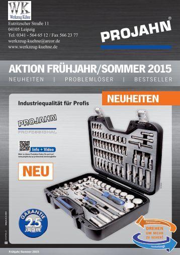 Handwerkzeuge Frühjahr-Sommer 2015 II