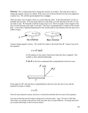 static equilibrium forces and torques 122 examples of static equilibrium a variety of engineering problems can be solved by applying equilibrium conditions for rigid bodies in applications, identify all forces that act on a rigid body and note their lever arms in rotation about a chosen rotation axis.