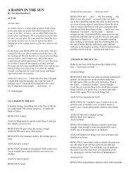 A Raisin in the Sun (Act III)PDF