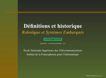 Définitions et historique - rfc1149.net