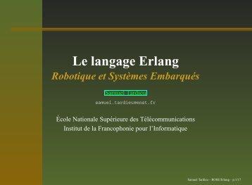 Le langage Erlang - rfc1149.net
