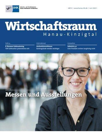 IHK Wirtschaftsraum: Ausgabe Juni