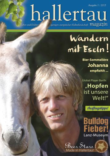 Hallertau Magazin 1/2015
