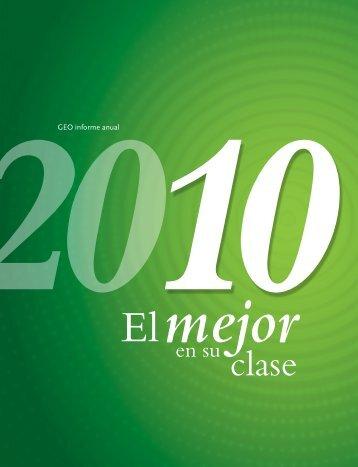 Reporte anual 2010 - Reforma