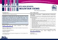 newsletter-march-21-12 - Mountain Creek State High School