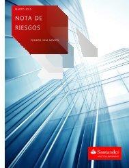 Nota Riesgos 311212 - Santander